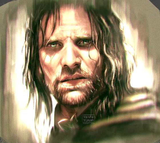 Aragorn digitalart by Aleksei Vinogradov