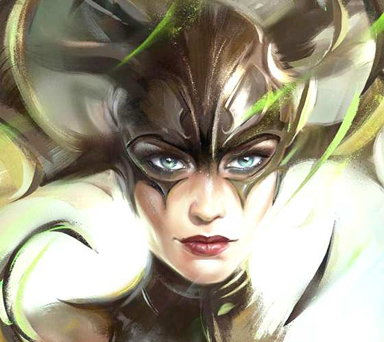 Hela digitalart by Aleksei Vinogradov