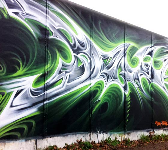 Graffiti 2 graffiti by Dan DANK Kitchener