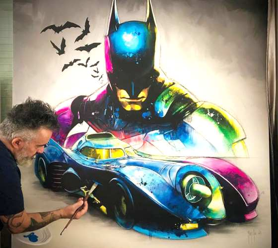 Batmobile by Patrice Murciano