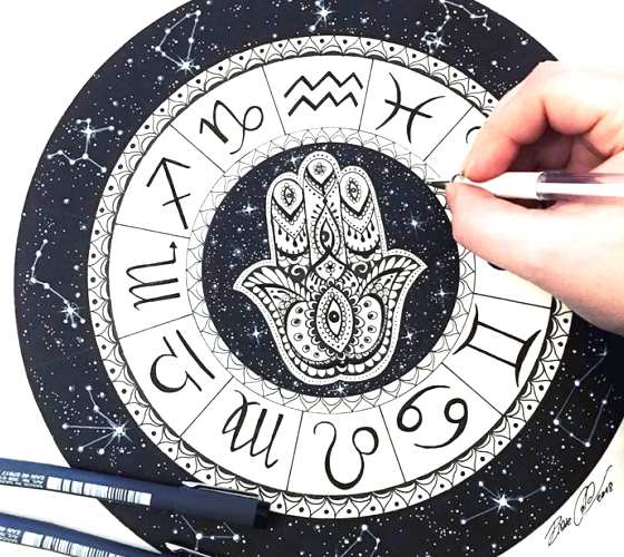 Zodiac Signs drawing by Pixie Cold