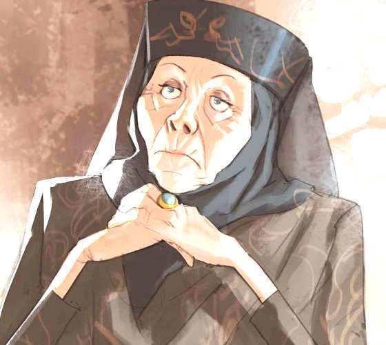 Lady Olenna digitalart by Ramon Nunez