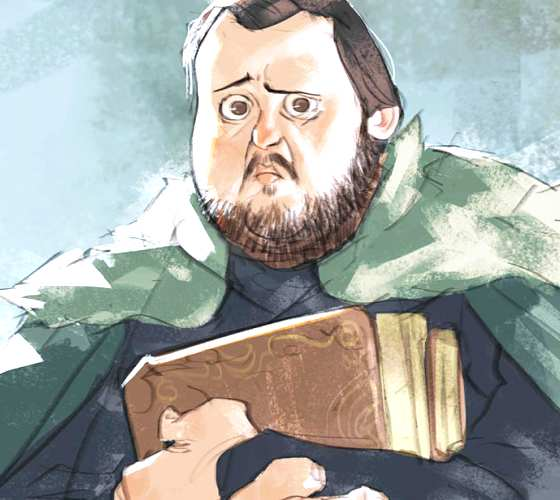 Samwell Tarly digitalart by Ramon Nunez