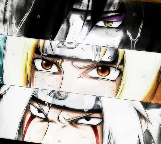Legendary Sannin.jpg color drawing by Roberto Vieira