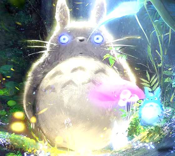 Totoro digitalart by Ross Draws