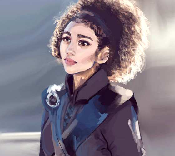 Missandei digitalart by Sarah Moustafa