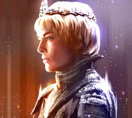 Cersei Lannister digitalart by Zarory Art